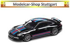 Porsche 911 Carrera S Aerokit Cup Martini Course Noir Spark 1:43 WAP0202310G