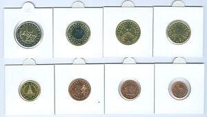 Slovénie 1 Cent Jusqu'À Set de Monnaies Légales (Choisissez Entre : 2007 - 2019)
