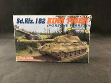 Dragon Mini Armor Sd.Kfz. 182 King Tiger Porsche Turret 1:144 SC Model Kit (09)