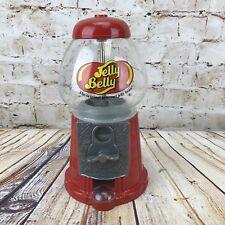 "Candy Dispenser Gumball Machine Jelly Belly Bean Cast Iron Glass Globe 11"" tall"