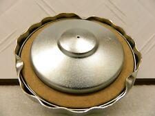 "1963 ""early"" Corvette gas cap w/o pressure relief valve. SMC Logo will Pass NCRS"