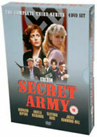 Secret Army : Complete Third Season 3 (DVD SET 4 DISC) Rare Region 2