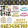 HOT Happy Birthday Bunting Banner Balloons 18/21st/30/40/50/60th Birthday Party