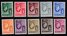 British Virgin Islands 1938 Mint MLH Part Set Definitives King George VI to 5s