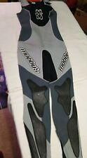 Womens Mobby's  M4 Fusion Tech Wet Suit sz 10 Black Diving Surfing Ski  GUC