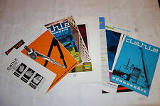 20 superponerse/folletos dahle Gotha oficina técnica 1960-70er años