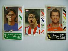Panini: WM Germany 2006, Update-Sticker Inzaghi, Barreto, Lehmann, top !!!