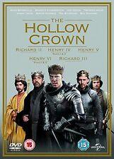 The Hollow Crown TV Mini Series 1 & 2 DVD Box Set R4/Aus Shakespeare