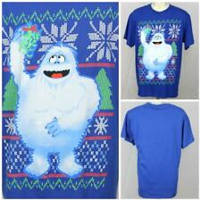 "Rudolph's Abominable Snowman Bumble with Mistletoe Lg Christmas T-Shirt 22""P2P"