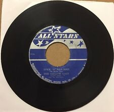 "Mellow Cats - ""Rock ""A"" Man Soul"" RARE Reggae 7"" (All Star Records"
