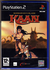 PS2 Kaan - Barbarian's Blade (2004), UK Pal, Brand New & Sony Factory Sealed