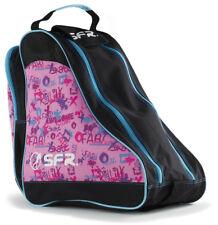 SFR - Designer Ice & Skate Bag - Pink/Graffiti- Roller Skate Carry Bag