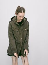 ARITZIA TALULA TROOPER JACKET MILITARY COAT SIZE XXS SUITABLE FOR UK6-8