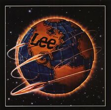 "VINTAGE AD POSTER~Lee Jeans 1982 Globe 10x10"" Classic World Print Original Rare~"