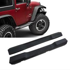 For 07-17 Jeep Wrangler JK 2 Door OE-Style Side Step Nerf Bars Running Boards