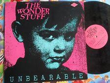 The Wonder Stuff Unbearable The Far Out GO BIG 002 UK 12inch Vinyl Maxi-Single