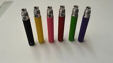 3x 1100MAH BATTERY eGo-WITH 1 USB CHARGER - 510 FIXED -MIXED COLORS
