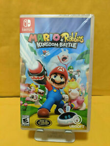 Mario + Rabbids Kingdom Battle - Nintendo Switch - Brand New - Free Shipping!