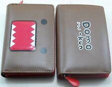 DOMO KUN Womens Girls Boys Faux Leather Bifold Purse Wallet