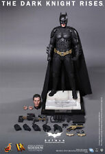 "Batman Bruce Wayne The Dark Knight Rises 1/6 12"" Figur DX12 Hot Toys"