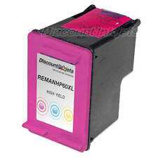 CC644WN COLOR Ink Printer Cartridge 60XL 60 XL for HP Deskjet F4280 D1660 F4480