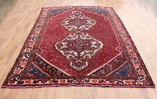 OLD WOOL HAND MADE ORIENTAL FLORAL RUNNER AREA RUG CARPET 305x210CM3028