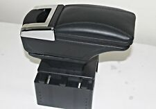 BLACK ECO LEATHER PADDED ARMREST CENTER FIT FOR VAUXHALL OPEL ASTRA/ 2005 BOX