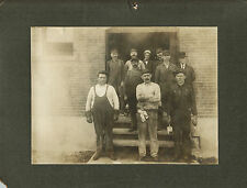 1909 Oversized Cabinet Photo of ID'd California Standard Oil Men