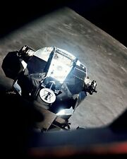 """APOLLO 10 LEM """"SNOOPY"""" RENDEZVOUS WITH CM """"CHARLIE BROWN"""" - 8X10 PHOTO (BB-052)"""