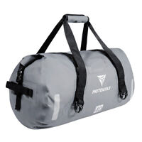 40L Waterproof Reflection Motorcycle Motorbike Roll Bag Tail Pack Bike Tail Bag