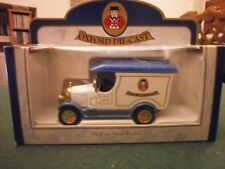 Oxford Diecast Morris Bull Nose Van with Oxford Diecast Decals