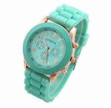 Female Watch Silicone Women Watches Ladies Fashion Dress Quartz Wristwatch Round