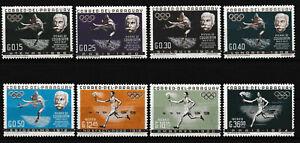 Paraguay - Zusammenarbeit im Sport Satz postfrisch 1963 Mi. 1160-1167