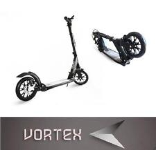 New Vortex Adult Folding Suspension Kick Scooter + Hand Disc Brake Large Wheels