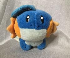 "Pokemon Plush Mudkip 9"" Hasbro 2004 Nintendo Creatures Stuffed Animal"