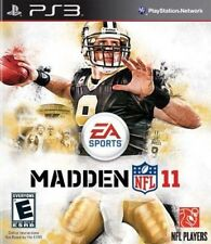 Madden NFL 11 PlayStation 3 Video Game Disc Only Fast Free Shipping