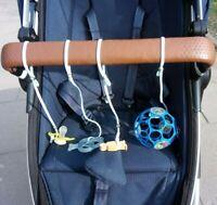 Dennbar Befestigung Spielzeug Schnuller Kinderwagen Clips Aufhänger Baby