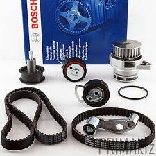 BOSCH Zahnriemen 1987949190 + Rollensatz + Wasserpumpe AUDI SEAT VW 1.6 16V FSI