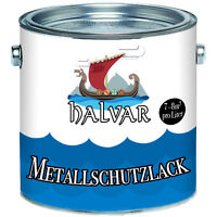 Halvar Metallschutzfarbe Grau Kunstharzlack 2,5L 5L 10L RAL 7016 Anthrazitgrau