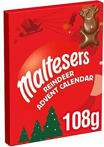 Maltesers Reindeer Chocolate Advent Calendar Christmas, 108g.