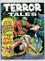 Terror Tales Vol. 4 #6 Classic Horror Magazine Eerie Publications 1972