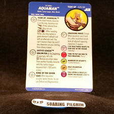 Aquaman Team Up Card 029.08 Hawkgirl Justice League Unlimited Heroclix