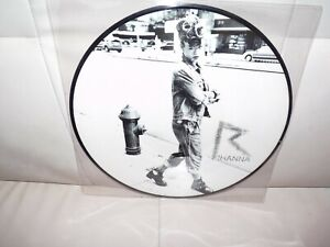 "Calvin Harris Rihanna We Found Love 12"" Vinyl Record Rare Picture Disc"