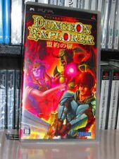 Dungeon Explorer: Meiyaku no Tobira (Sony PSP, 2007) - New Japanese Import