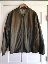Eddie Bauer Green Brown Fleece Jacket Hunting Sport Shop Mens 3XL