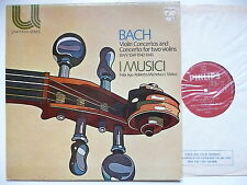 AYO & MICHELUCCI PLAY BACH VIOLIN CONCERTOs WITH I MUSICI PHILIPS 6580 021