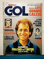 SUPER GOL N. 1 FEBBRAIO 1984 FALCAO RUMMENIGGE PLATINI DIRCEU ROBSON MARADONA