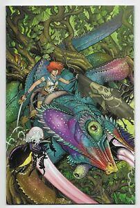 Bermuda #2 IDW Comic 2021 Nick Bradshaw 1:10 Virgin Variant Cover John Layman