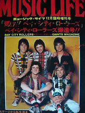 BAY CITY ROLLERS RARE 1976 JAPANESE MUSIC LIFE MAGAZINE