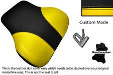 Negro Y Amarillo Personalizado Para Bmw C1 125 200 Respaldo Cuero Funda De Asiento